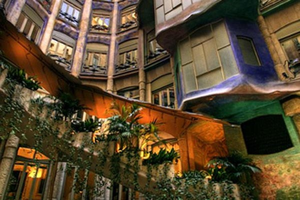 Beautiful Gaudi Houses K O Jewel