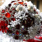 Beautiful Wedding Brooch Bouquets
