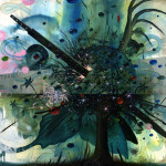 Wood painting: Jeff Soto