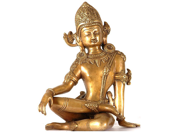 Statue of Hindu God Indra