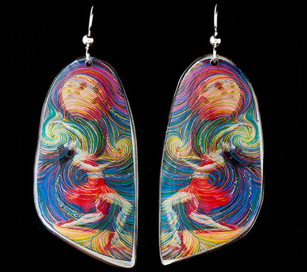 Metaphysical Dancer Energy Earrings