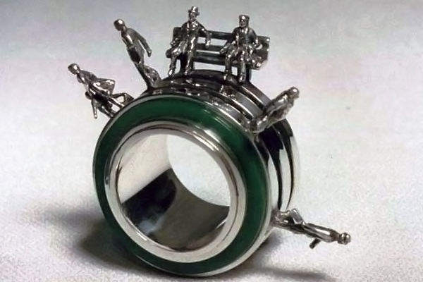 Human Race Ring Toy