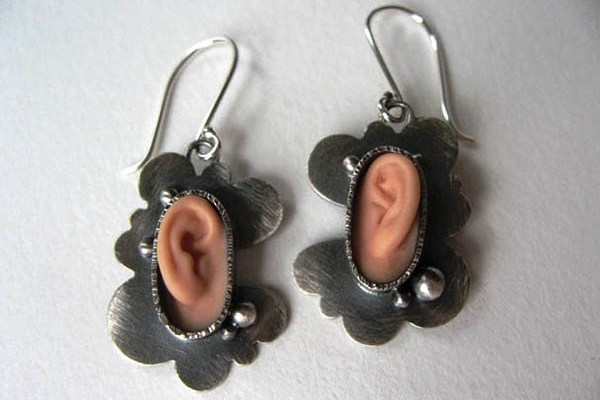 In One Ear Out the Other Earrings
