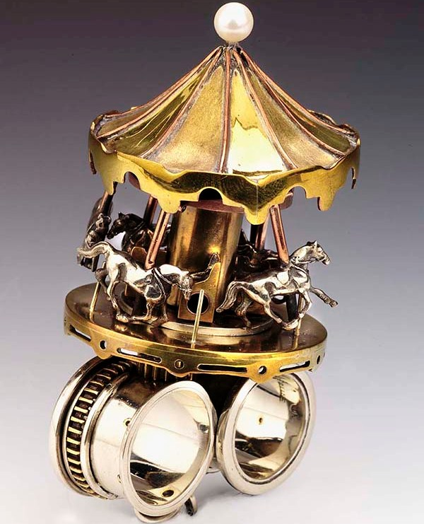 Two-Finger Carousel Ring Toy