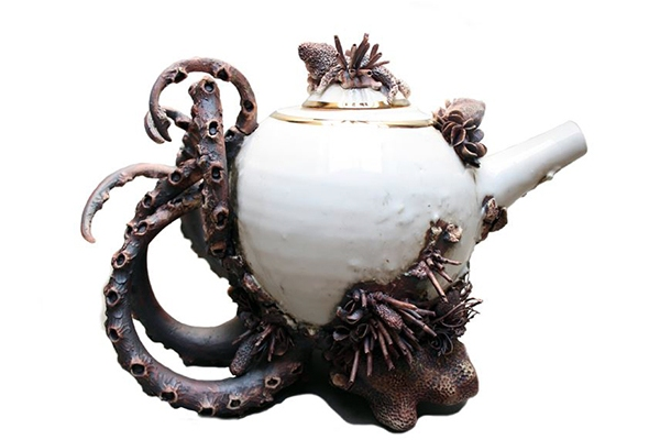 Bottom Feeder Teapot