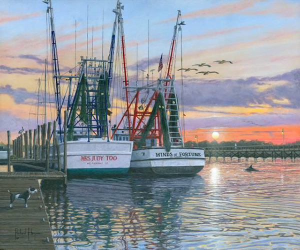 Shem Creek Shrimpers, Charleston
