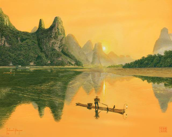 The Cormorant Fisherman, Li River, Guilin