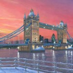 Tower Bridge after the Snow - Richard Harpum