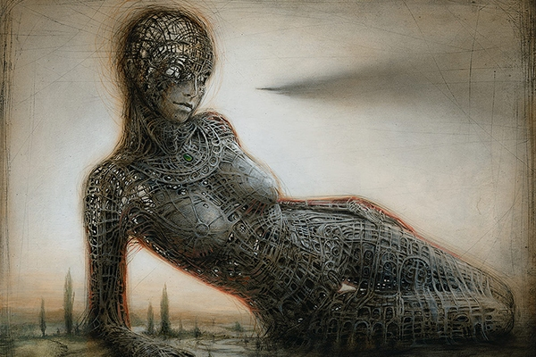 Gynoid Monument III - Peter Gric